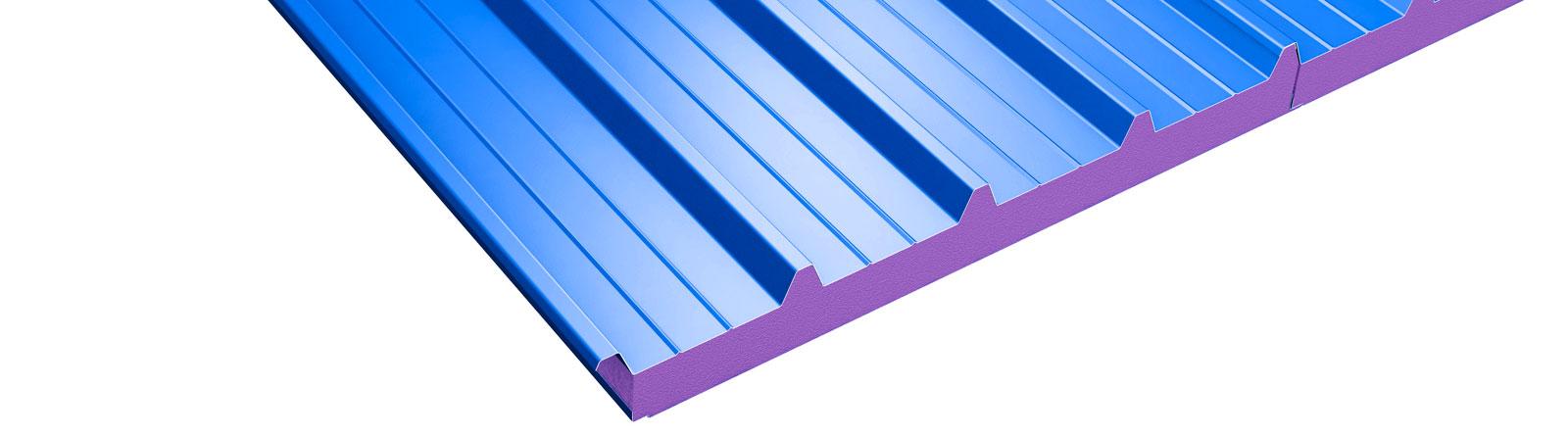 hierros fergo panel sandwich azul